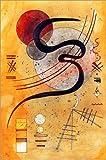 Poster 60 x 90 cm: Launelinie von Wassily Kandinsky/ARTOTHEK - Hochwertiger Kunstdruck, Kunstposter
