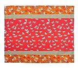 Bassetti Tischset - Doge V1 - Größe: 40 x 50 cm - Farbe: Rot in