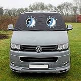 Betty Transporter T5ventana cortina de pantalla Wrap Cover frost protección persianas ojos...