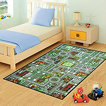 grand tapis de jeu pour enfant pour jouer au jeu de la. Black Bedroom Furniture Sets. Home Design Ideas