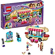 LEGO Friends - Parque de atracciones, furgoneta de perritos calientes (6136483)