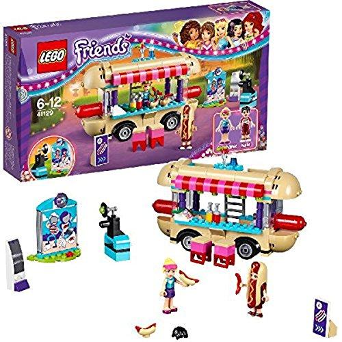LEGO – 41129 – Friends – Jeu de construction – La Camionnette à Hot-dogs du Parc d'Attractions