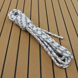 HTF-Outdoorseil'ECO' - Allzweck Seil 14mm Durchmesser, Bruchlast 2950kg - für Bootsport, Sport, Camping, Segeln, Angeln, Fischen, Wandern Reepschnur, Leine, Schnur Schot Tauwerk Festmacher (Länge: 20mtr.)