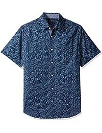 Nautica Print Classic Fit, Camisa Casual Para Hombre