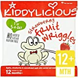 Kiddylicious Strawberry Fruit Wriggles 12g