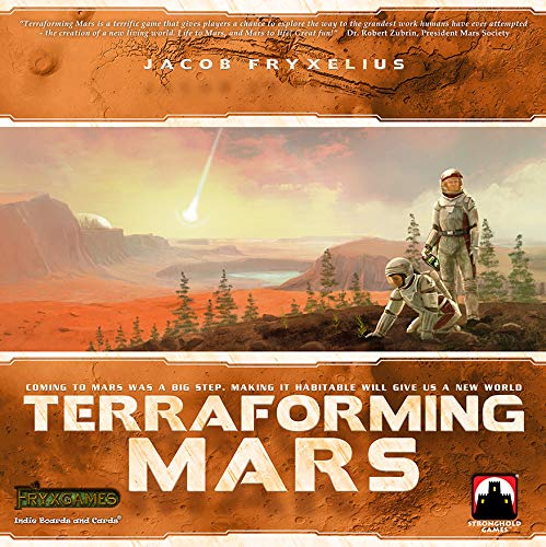 Stronghold Games STG06005 - Terraforming Mars, Familien Strategiespiel (ENGLISCH)