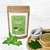 Ohayo! Anti-Acne Face Pack 100gm   Neem, Tulsi   100% Natural   Anti-viral & Anti-bacterial   Removes Blackheads, Acne   High