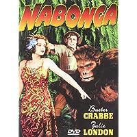 Big Screen Jungle Queens: (Nabonga (1944) / Queen of The Amazons (1946) / Blonde Savage (1947) / Savage Girl (1932) / Jungle Siren