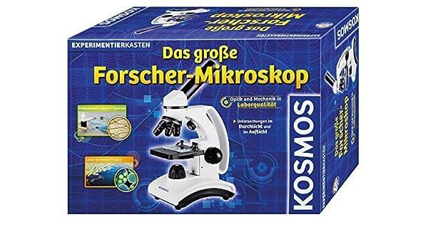 Kosmos 636029 the great explorers microscope by toymarket: amazon.de