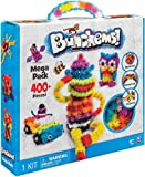 Squish, connect and create with Bunchems, They stick to each other and build like no other, They stick and stay then pull apart for endless play, The Mega Pack includes over 400 pieces, 370 Bunchems and 37 accessories to make 36 critter characters or...