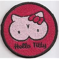 Hello Kitty Biker Aufn/äher SORRY die Coolen Patches waren ausverkauft