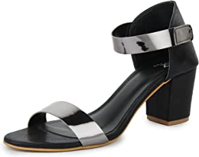 TRASE Franci Block Heel Sandal for Women