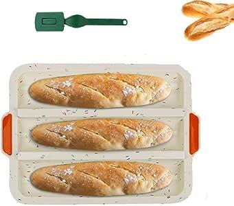Lurch 85085 FlexiForm Baguette 3fach Brotbackform für 3