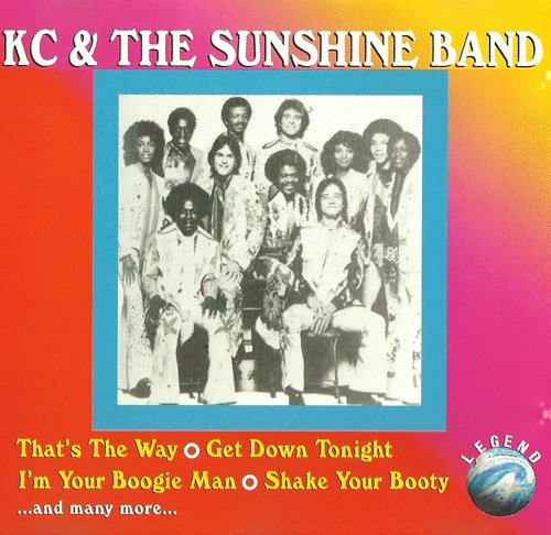 Funky Sounds from Florida (CD Album KC & The Sunshine Band, 16 Tracks) -