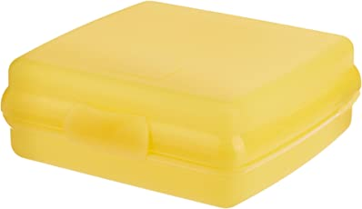 Tupperware Sandwich Keeper Box, Golden Amber (197)