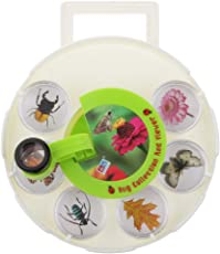 Generic Insect Collection Box Set with Rotated Magnifier School Kindergarten Outdoor Kids Toys
