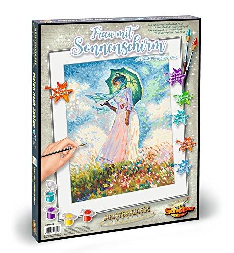 Schipper 609130759 - Malen nach Zahlen - Frau mit Sonnenschirm