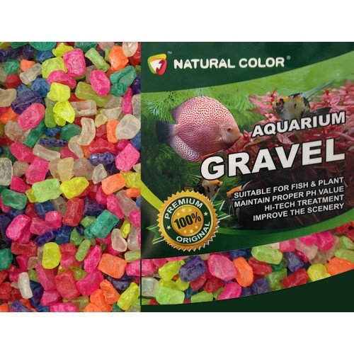 natural-color-aquarium-fish-tank-tropical-fresh-water-mixed-colours-gloss-stone-gravel-8-12mm-5kg