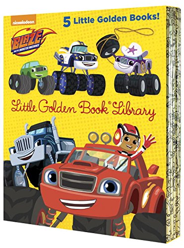 Preisvergleich Produktbild Blaze and the Monster Machines Little Golden Book Library (Blaze and the Monster Machines) (Blaze and the Monster Machines: Little Golden Books)