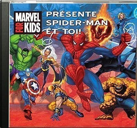 Musique et Chansons personnalisées - Spiderman et toi - CD