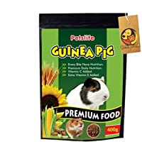 Foodie Puppies Natural Premium Healthy Daily Nutrition Guinea Pig Food, 400 Gm (Pack of 1)