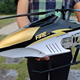 Kikioo Huge 3.5CH Channel Airplane Built-in Gyro Anti-Collision RC Drone Toy Length Hobby Radio Remote Control Plane For Kids