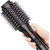 AEVO Brosse Soufflante, Brosse-Sèche-Cheveux & Volumateur, 4-en-1 pour Lisser, Sécher, Boucler et Styler les Cheveux…