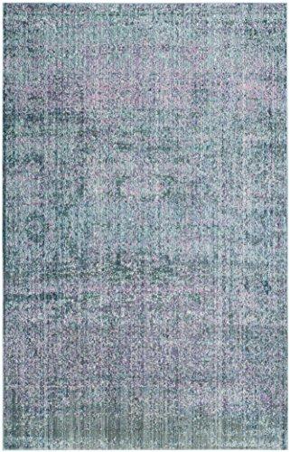 Safavieh Lulu gewebter Teppich, MYS920K, Lila / Mehrfarbig, 121 X 182  cm (Safavieh-teppiche Lila)