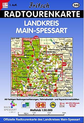 Landkreis Main-Spessart (Fritsch Radwanderkarten)