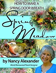 Spring Meadow: How to Make a Spring Door Wreath