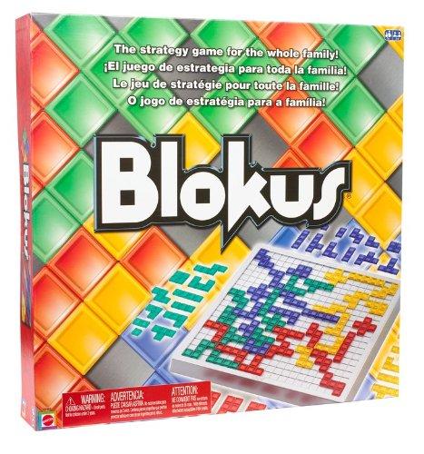 Preisvergleich Produktbild Mattel R1983-0 - Blokus Classic, Brettspiel
