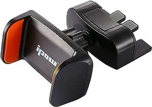 Ipow Mini Handyhalterung Handyhalter Fürs Auto Cd Schlitz One Touch Kfz Handy Halterung Mit 360 Drehen