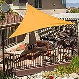 Colore Crema AXT SHADE Tenda a Vela Quadrato 2 x 2m per Esterni Traspirante e Protezione Raggi UV Giardino Cortile