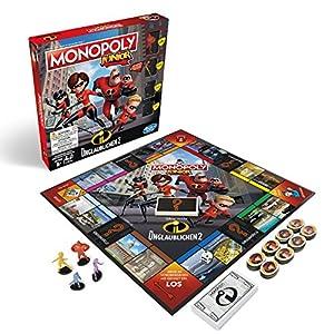 Hasbro Monopoly e17811002Monopoly Junior-La increíble-Juego Infantil