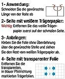 Höga-Pharm transparente Wundfolie, durchsicht...Vergleich
