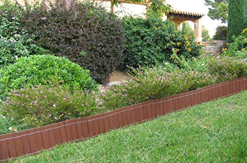 Bordura recinto da giardino luminiscente 2 50 m x 20 cm in for Bordura giardino prezzo