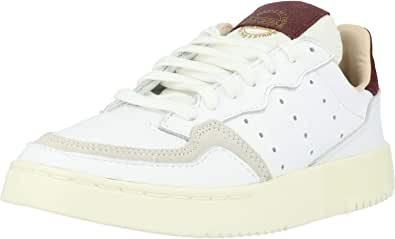 adidas Originals Supercourt W Bianca/Rosso (White/Maroon) Pelle 36 EU