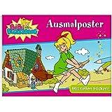 Bibi Blocksberg: Ausmalposter: Mit tollen Stickern