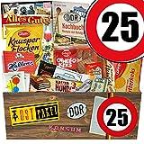 Geschenk Ideen L | Süßigkeiten Set | Zahl 25 | Geschenk Vati