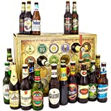 Bier Adventskalender Welt und Deutschland mit Tsingtao + Hite Pale Lager + Saigon + Quilmes + mehr 24 Flaschen Bier Geschenk mit Bieren aus aller WELT & DEUTSCHLAND. Bieradventskalender 2018