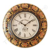 Vintage Clock Camel Hand-Painted Solid P...