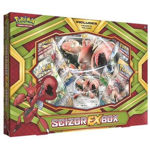 Pokémon 290-80294 Scizor Ex Box - Englisch, Spiel