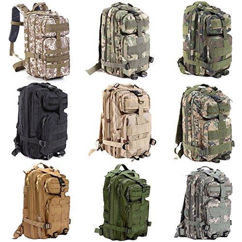 30L 3p oxford wandern camping tasche armee militärische taktische trekking - rucksack rucksack camo (acu camouflage)