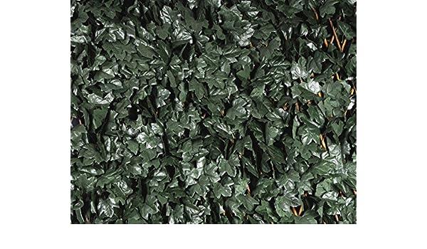 Divisori In Legno Per Giardino.Siepe Sintetica Traliccio Estensibile In Legno Con Foglie