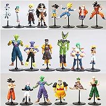 Bola de Dragon Dragon Ball Z colección 20 figuras personajes de Pvc diferentes 4312