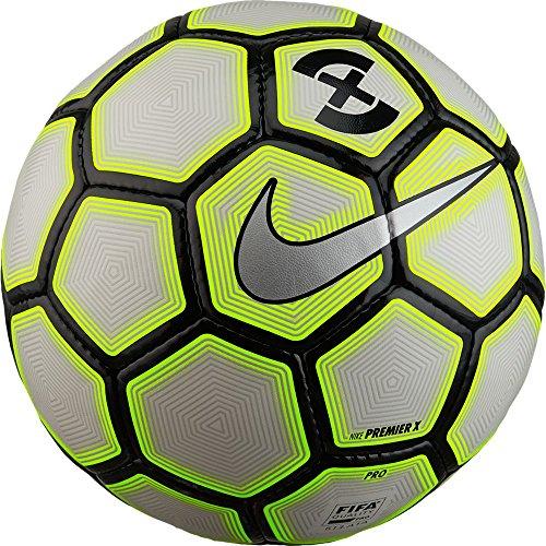 Nike Footballx Premier Futsal-Ball, White/Wolf Grey/Volt, One Size