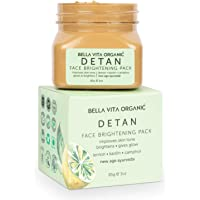Bella Vita Organic De Tan Removal Face Pack For Glowing Skin, Oil Control, Acne, Pimples, Blemishes, Pigmentation…