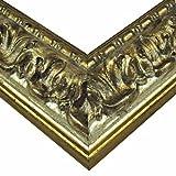 Barockrahmen 333 ARG, silber, 70 x 100 cm, Leerrahmen - 2