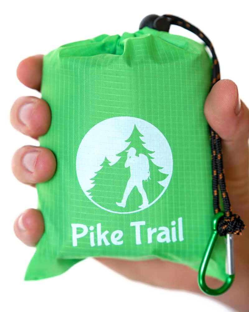Pike Trail Pocket Blanket – Waterproof, Lightweight and Durable Tarpaulin for Outdoors – 152 x 142cm 1