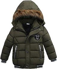 Overdose Baby Jungen Warm Baumwolle Steppjacke Kapuze jacke Daunenjacke Starker Padded Winter Mantel Kleidung
